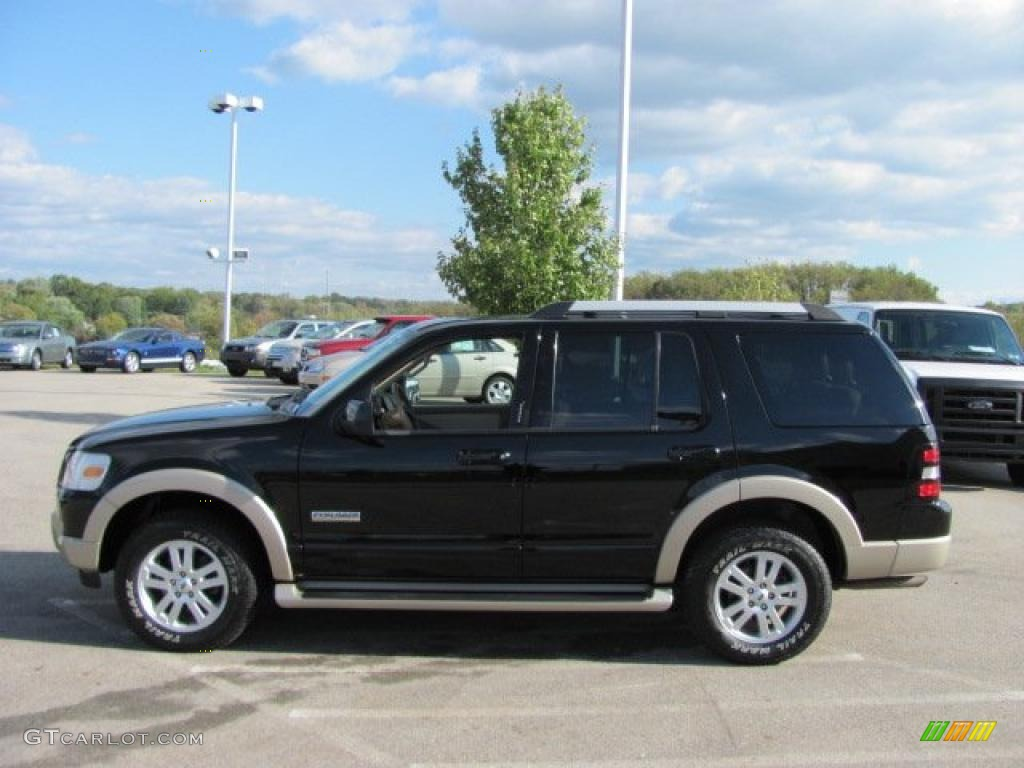 black 2007 ford explorer eddie bauer 4x4 exterior photo 38643114. Black Bedroom Furniture Sets. Home Design Ideas