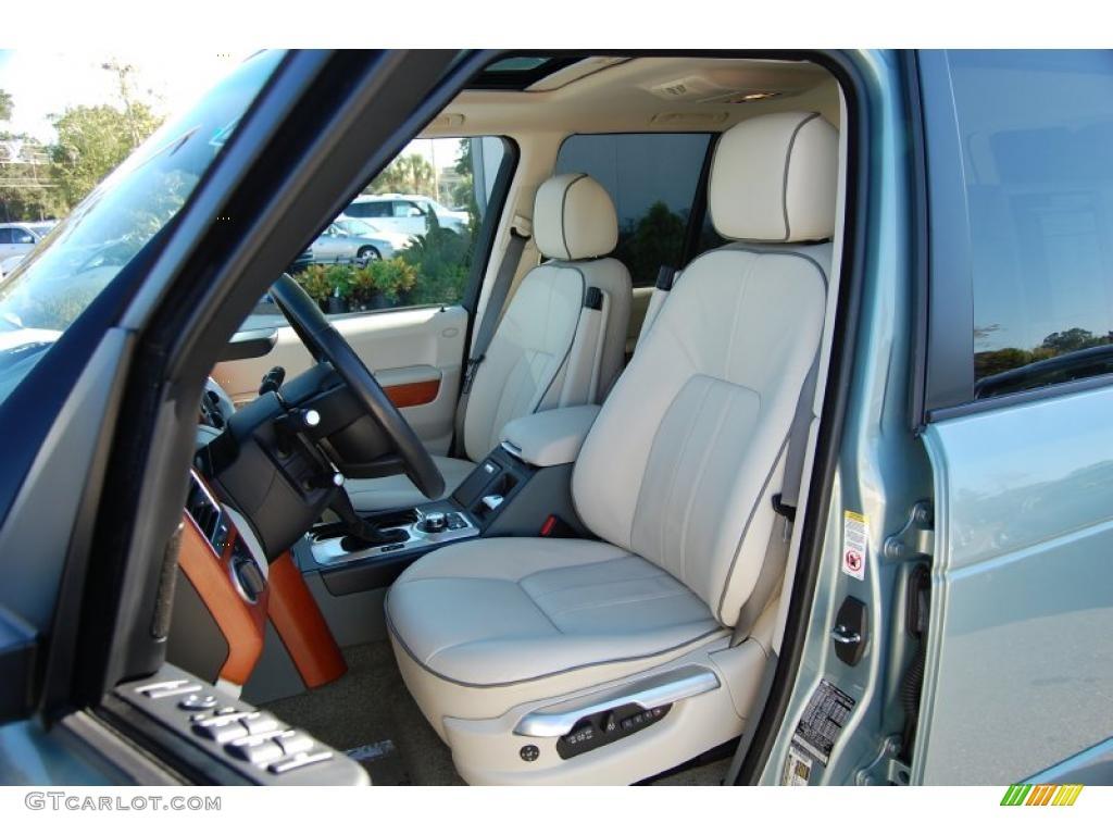 ivory interior 2008 land rover range rover v8 hse photo. Black Bedroom Furniture Sets. Home Design Ideas
