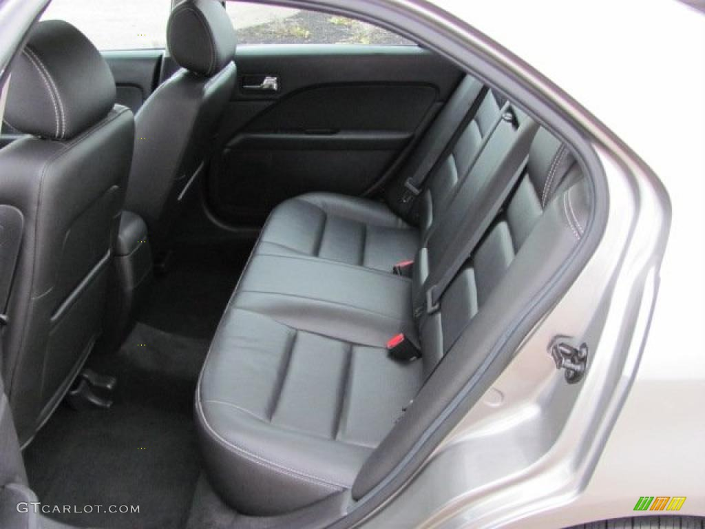 Custom 2015 Ford Fusion >> Charcoal Black Interior 2008 Ford Fusion SEL V6 Photo ...