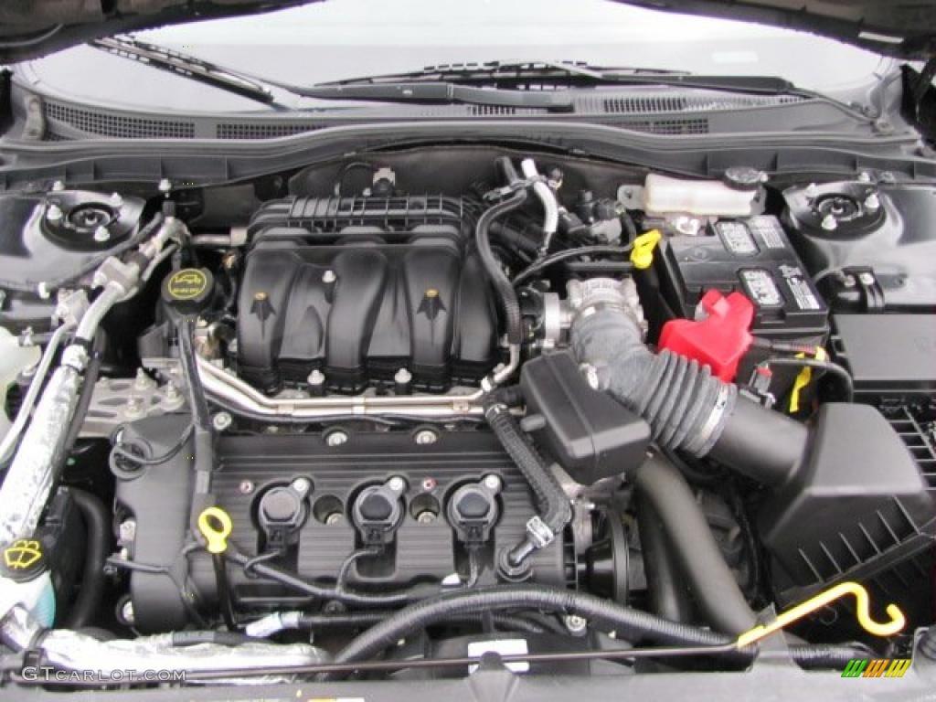 2010 Ford Fusion Sel V6 3 0 Liter Dohc 24 Valve Vvt Duratec Flex Fuel Engine Photo 38650082