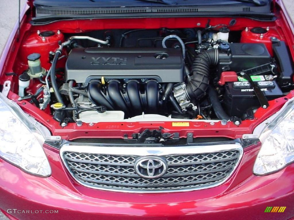 2007 Toyota Corolla Le 1 8l Dohc 16v Vvt I 4 Cylinder