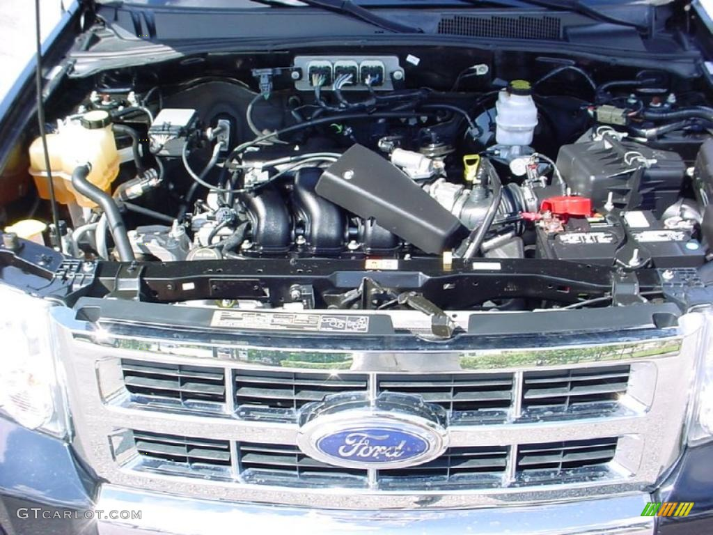 2008 Ford Escape Limited 3.0 Liter DOHC 24-Valve Duratec V6 Engine Photo #38651762
