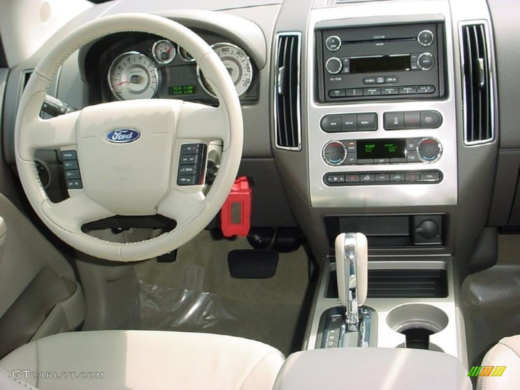 Ford Edge Limited Medium Light Stone Dashboard Photo