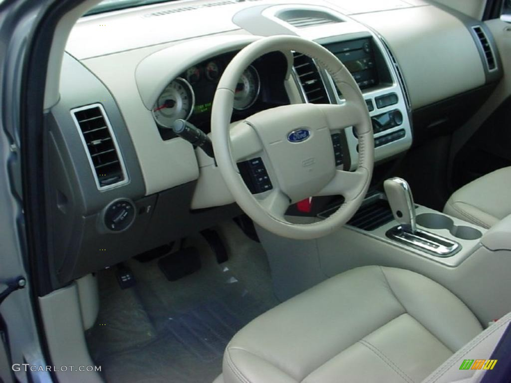 camel interior 2007 ford edge sel plus photo 38653074. Black Bedroom Furniture Sets. Home Design Ideas
