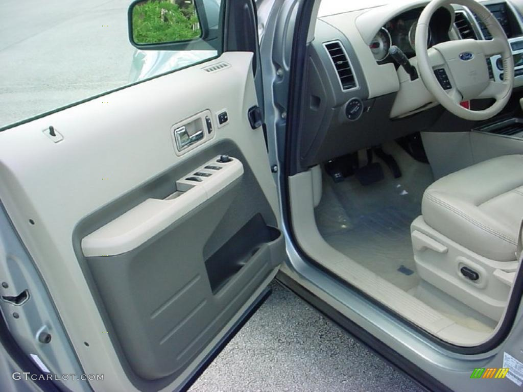 camel interior 2007 ford edge sel plus photo 38653090. Black Bedroom Furniture Sets. Home Design Ideas