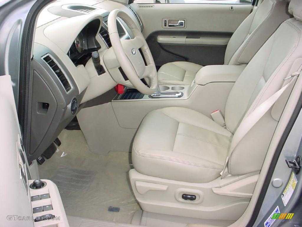 camel interior 2007 ford edge sel plus photo 38653122. Black Bedroom Furniture Sets. Home Design Ideas