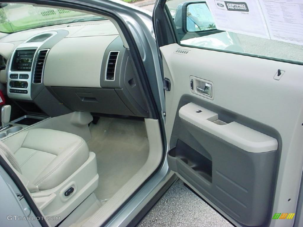camel interior 2007 ford edge sel plus photo 38653138. Black Bedroom Furniture Sets. Home Design Ideas