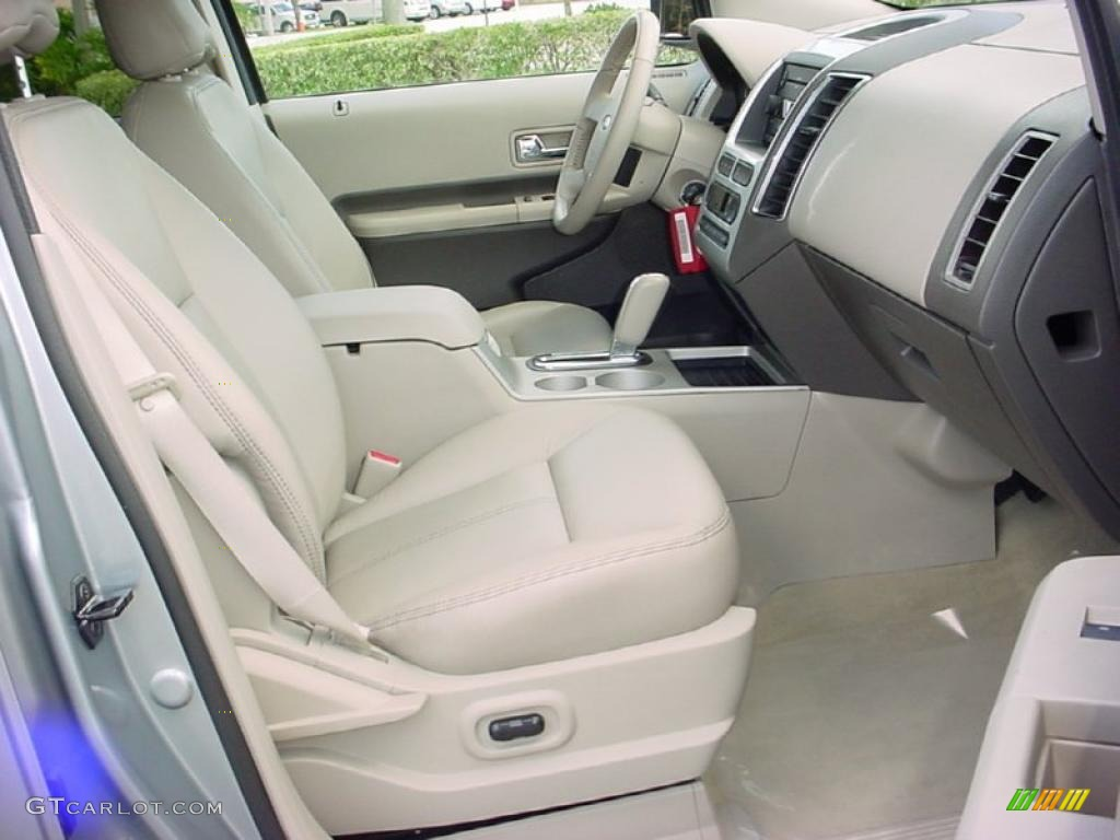 camel interior 2007 ford edge sel plus photo 38653162. Black Bedroom Furniture Sets. Home Design Ideas