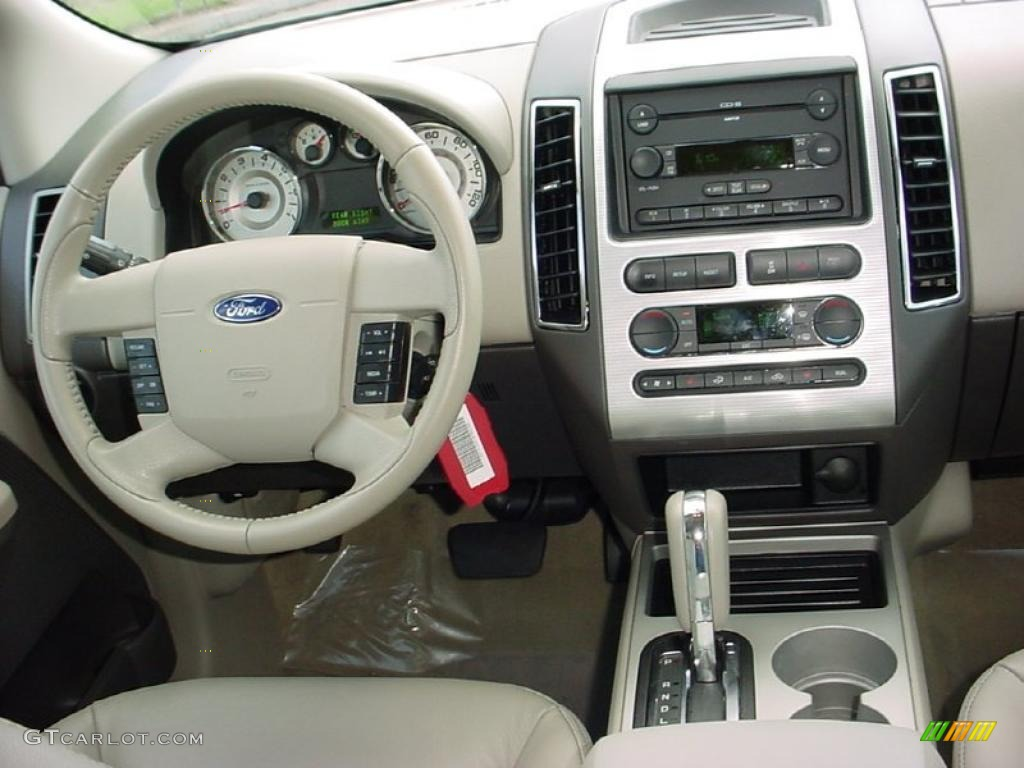 2007 ford edge sel plus dashboard photos. Black Bedroom Furniture Sets. Home Design Ideas
