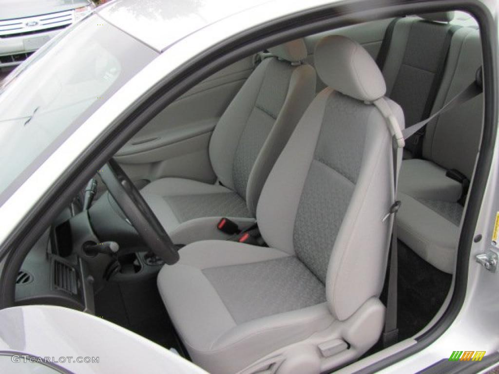 Marvelous Gray Interior 2008 Chevrolet Cobalt LS Coupe Photo #38655890