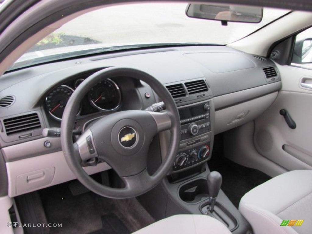 gray interior 2008 chevrolet cobalt ls coupe photo. Black Bedroom Furniture Sets. Home Design Ideas