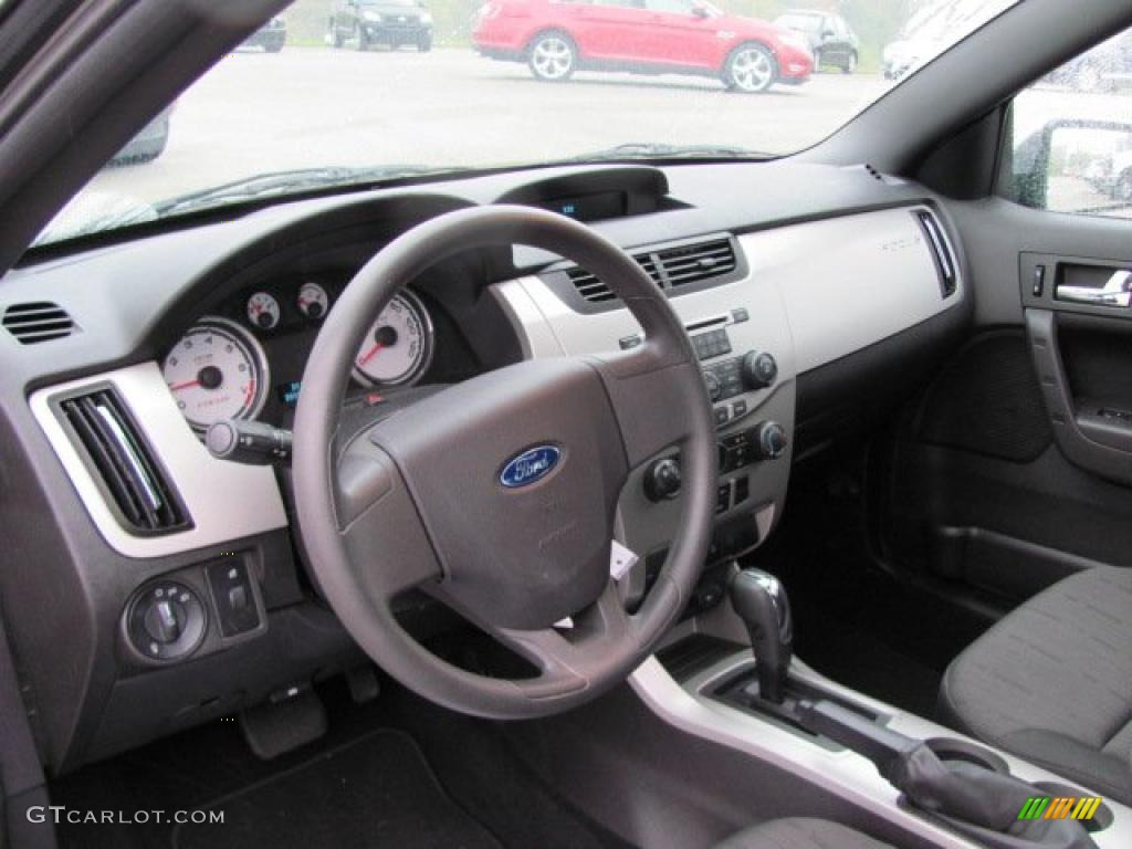 Charcoal Black Interior 2008 Ford Focus Se Coupe Photo 38656342