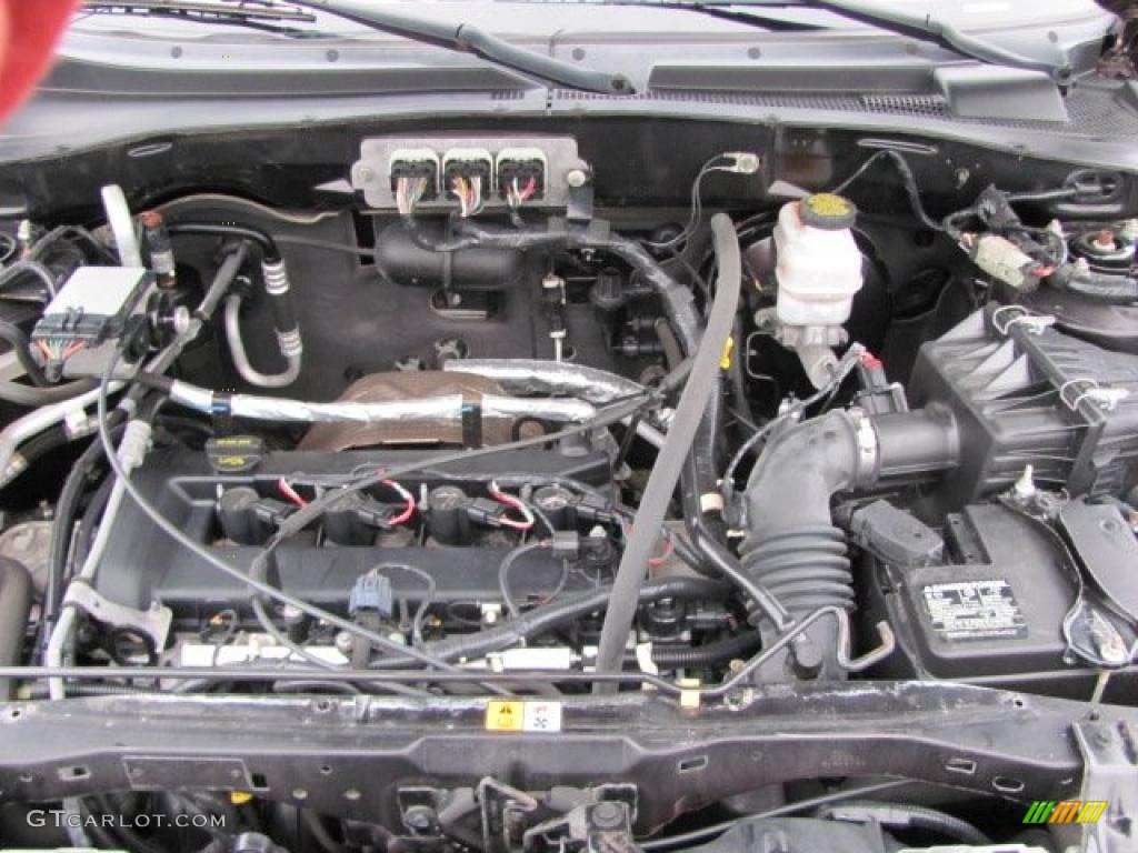 2007 Ford Escape Xls 4wd 2 3l Dohc 16v Duratec Inline 4