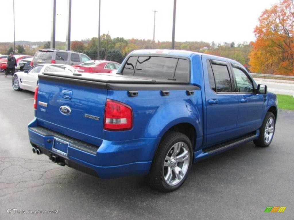 blue flame metallic 2010 ford explorer sport trac adrenalin awd exterior photo 38668014. Black Bedroom Furniture Sets. Home Design Ideas