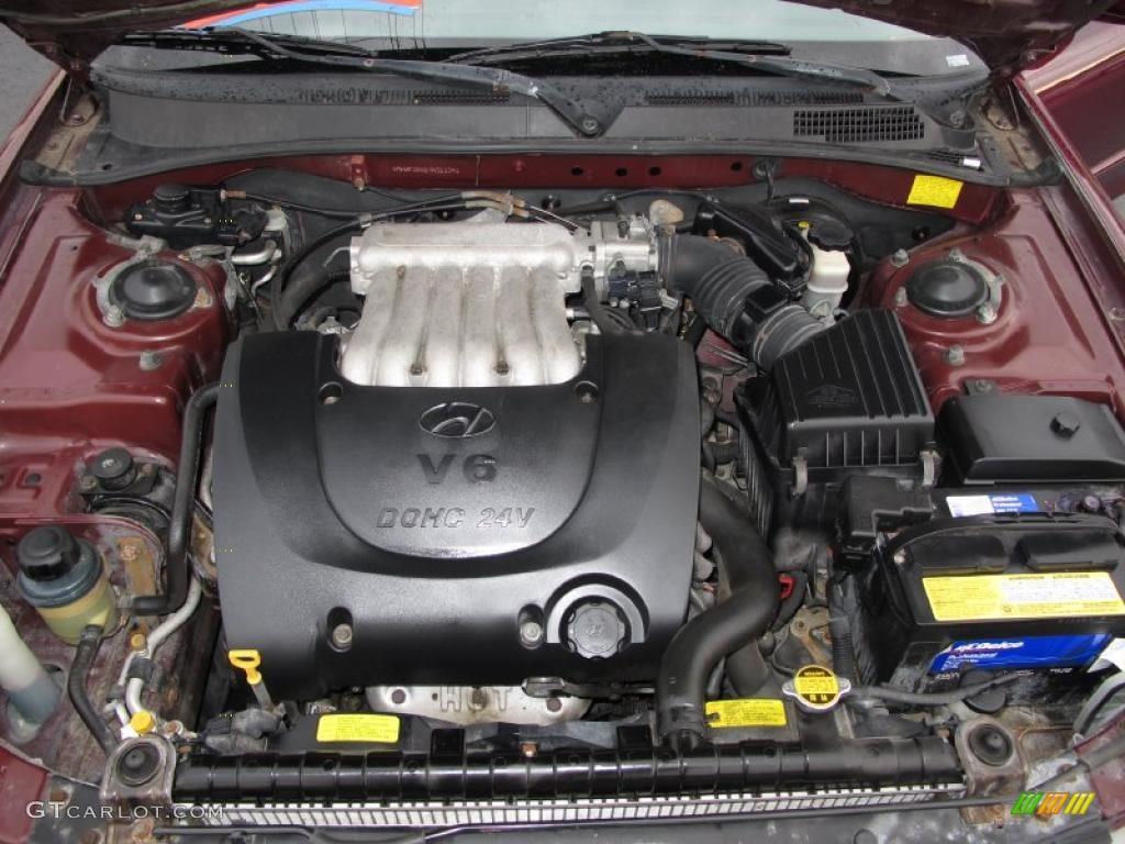 2000 Hyundai Sonata Gls V6 2 5 Liter Dohc 24