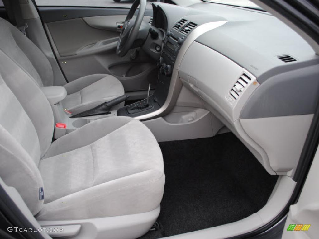 Ash Interior 2009 Toyota Corolla Photo 38678070