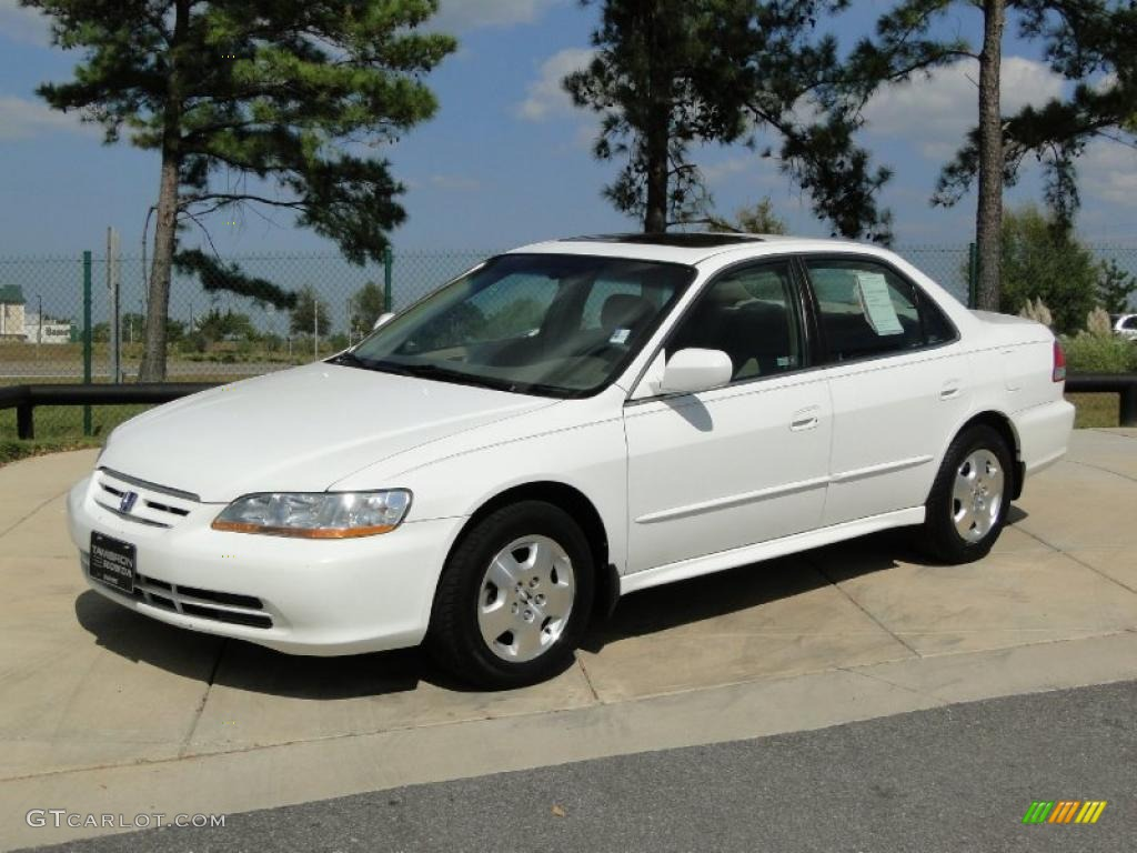 Taffeta White 2002 Honda Accord EX V6 Sedan Exterior Photo #38685190 ...