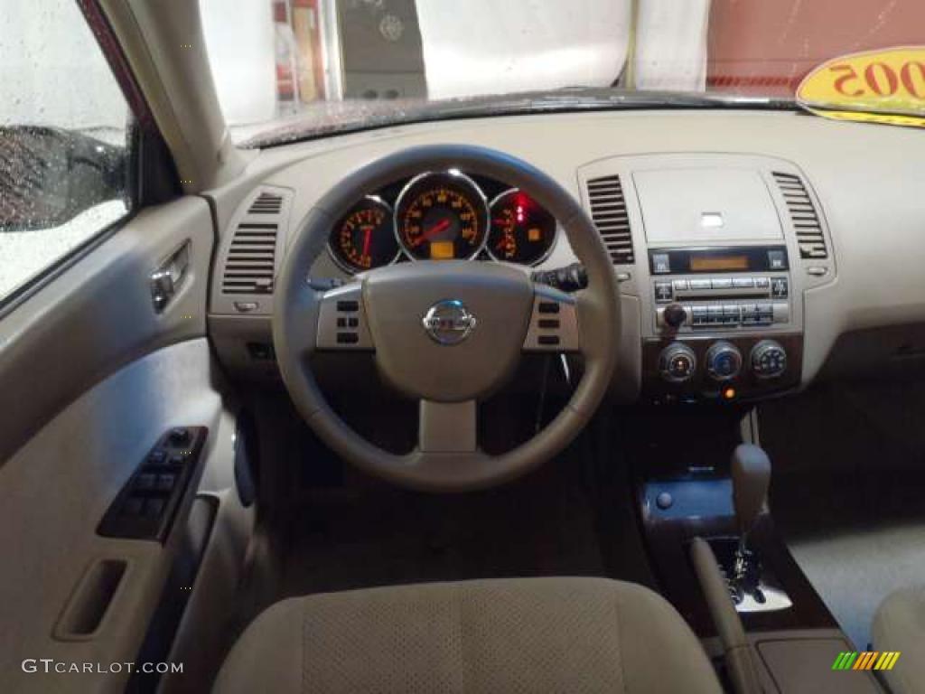 2005 nissan altima 2 5 s blond dashboard photo 38688528 - 2005 nissan altima custom interior ...