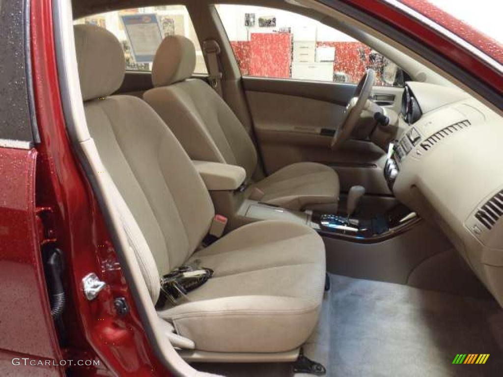 Blond Interior 2005 Nissan Altima 2 5 S Photo 38688636