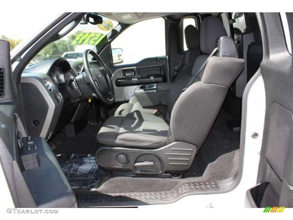 Black Interior 2005 Ford F150 FX4 Regular Cab 4x4 Photo #38694602 | GTCarLot.com