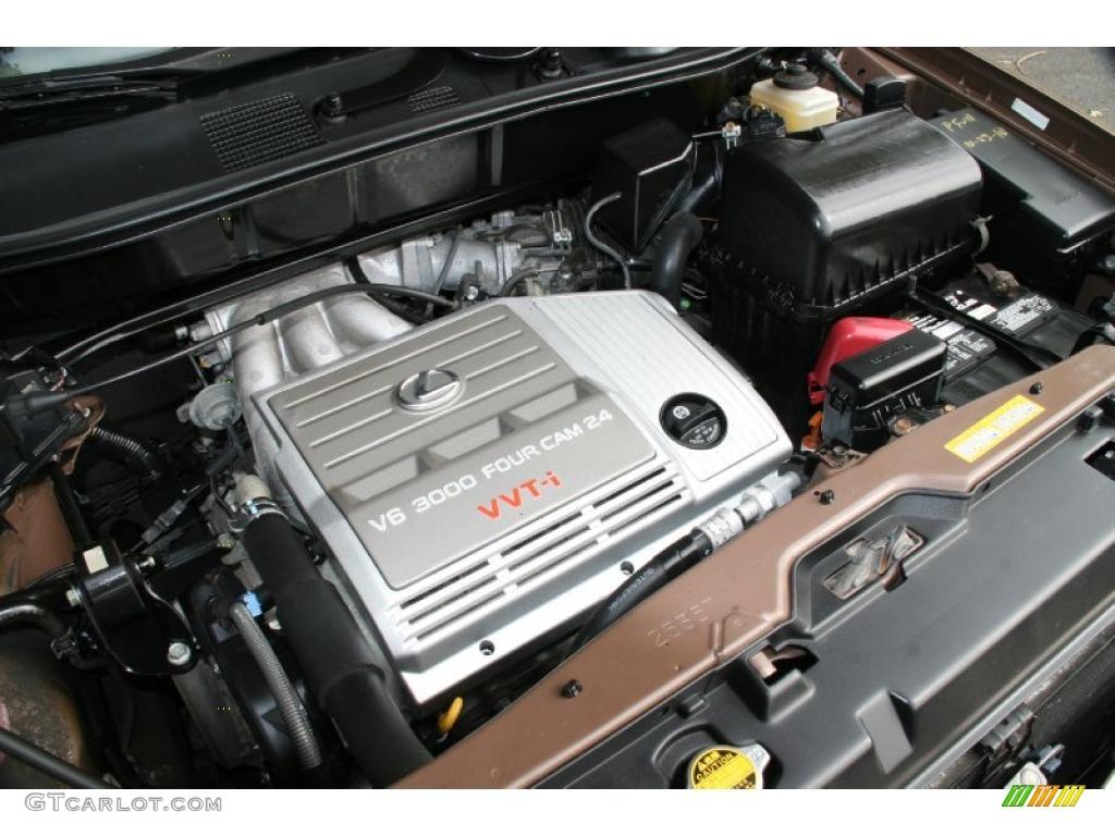 1999 lexus rx 300 awd 3 0 liter dohc 24 valve v6 engine. Black Bedroom Furniture Sets. Home Design Ideas
