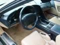 Light Beige 1993 Chevrolet Corvette Interiors