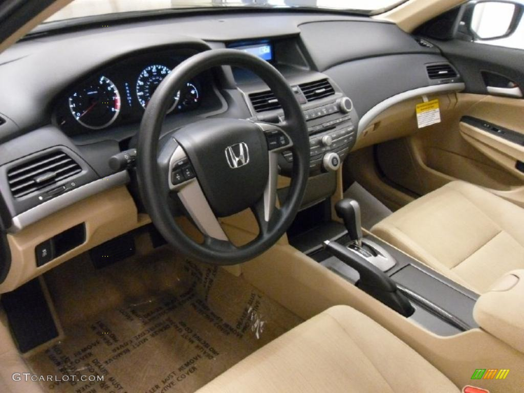 Ivory Interior 2011 Honda Accord Lx P Sedan Photo