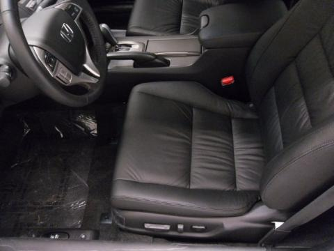 2011 Honda Accord EX-L Coupe Black Interior