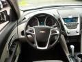 Jet Black/Light Titanium Steering Wheel Photo for 2010 Chevrolet Equinox #38711103