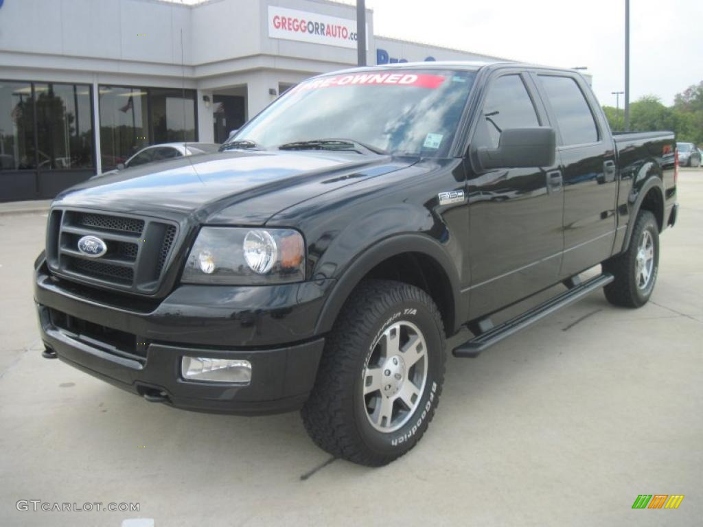 2005 black ford f150 fx4 roush stage 1 supercrew 4x4 38690267 car color galleries. Black Bedroom Furniture Sets. Home Design Ideas