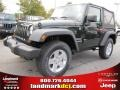 2011 Natural Green Pearl Jeep Wrangler Sport S 4x4  photo #1
