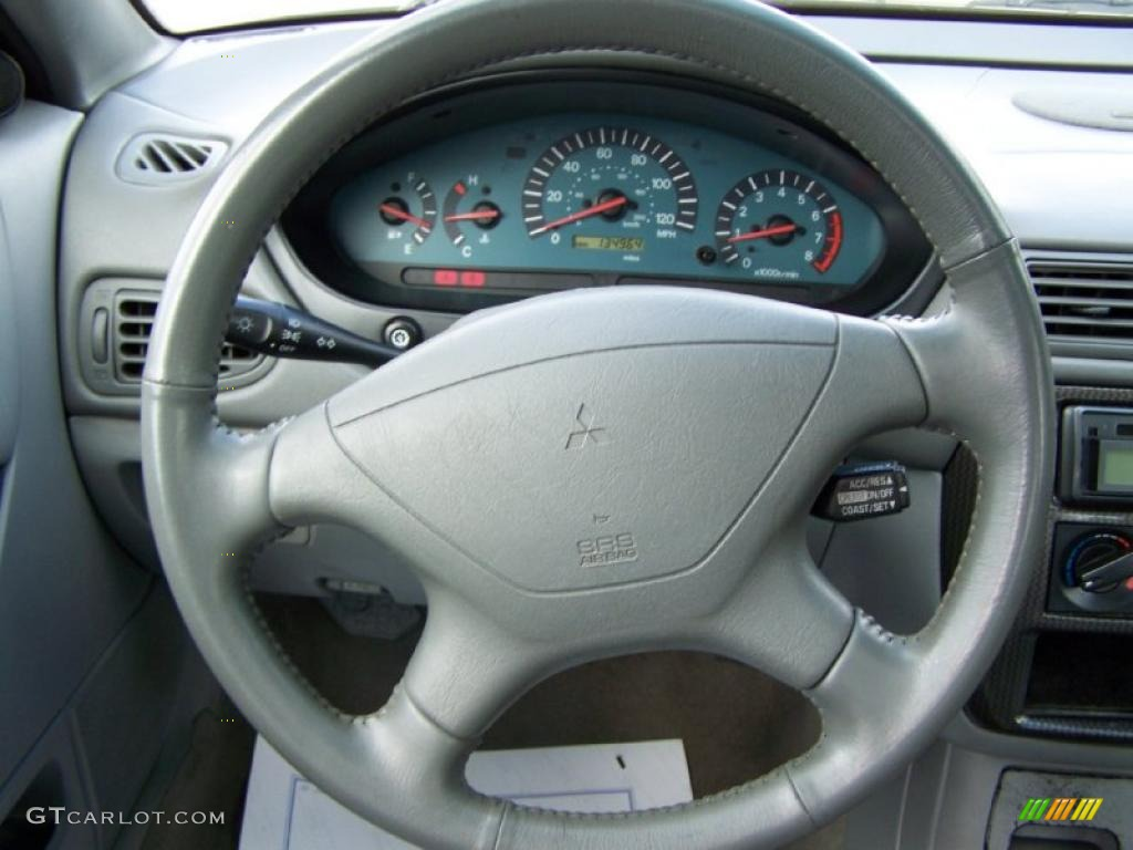 2002 Mitsubishi Galant GTZ Steering Wheel Photos | GTCarLot.com