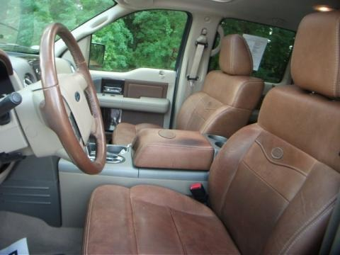 More 2008 Ford F150 King Ranch SuperCrew 4x4 Interior Photos