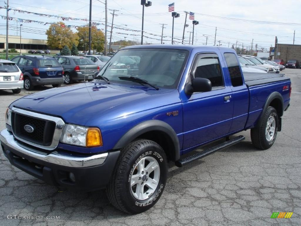 2004 sonic blue metallic ford ranger fx4 supercab 4x4 38690305 gtcarlot com car color galleries