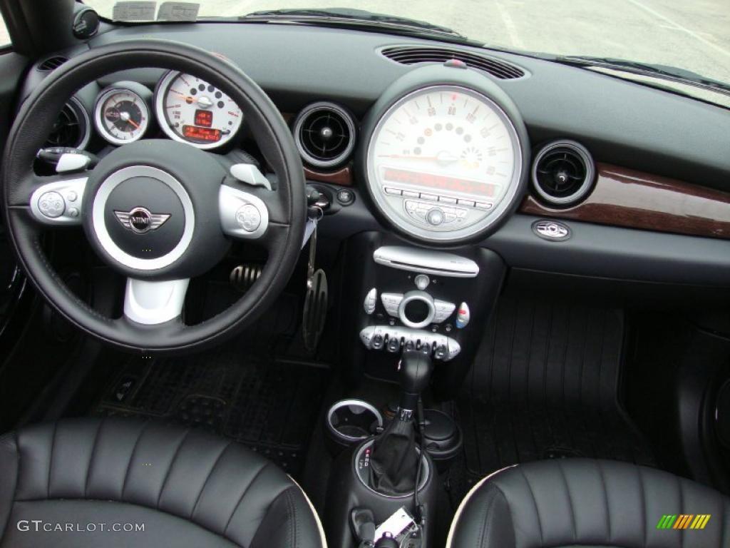 2010 Mini Cooper S Convertible Lounge Carbon Black Leather Dashboard Photo 38721327 Gtcarlot Com