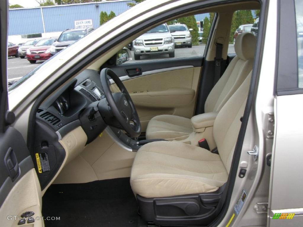 2010 Hyundai Sonata Gls Interior Photo 38725539