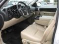 2010 Chevrolet Silverado 1500 Light Cashmere/Ebony Interior Prime Interior Photo
