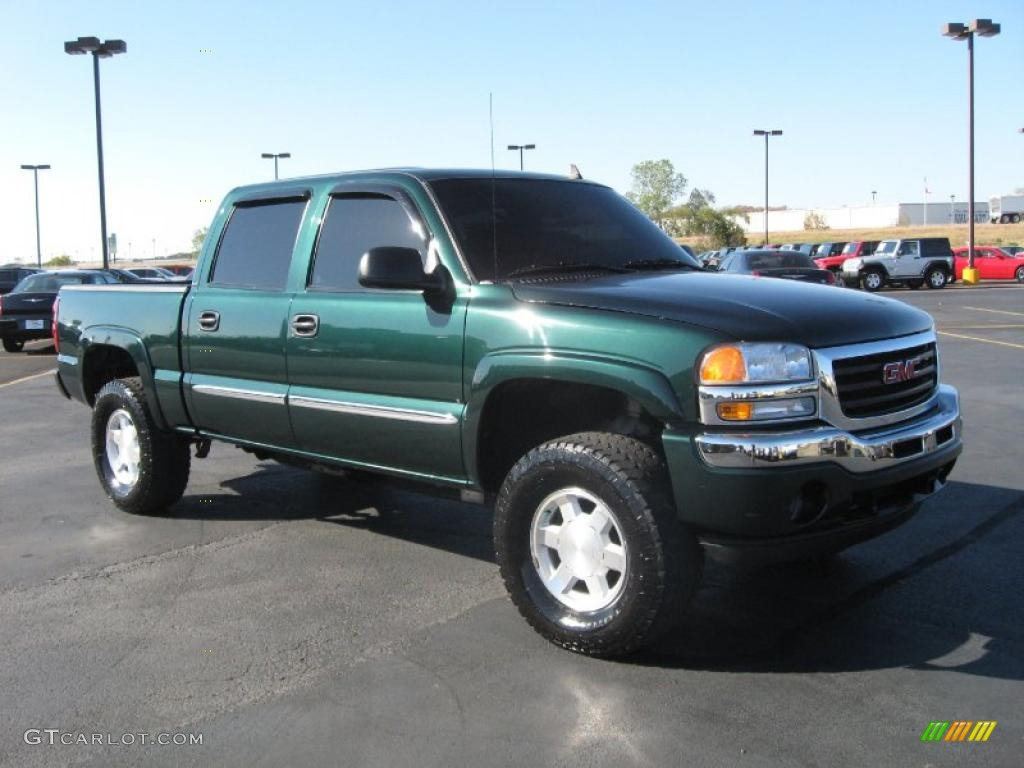 2006 gmc sierra 1500 sle crew cab 4x4 exterior photos. Black Bedroom Furniture Sets. Home Design Ideas