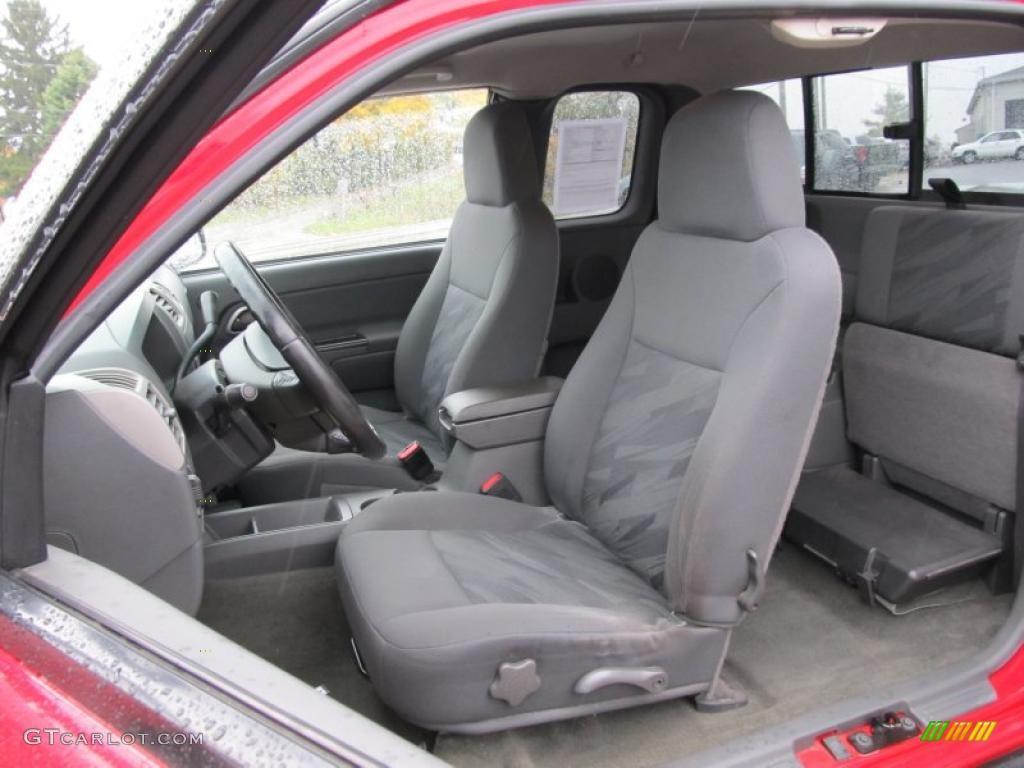 Medium dark pewter interior 2004 chevrolet colorado ls - 2005 chevy colorado interior parts ...