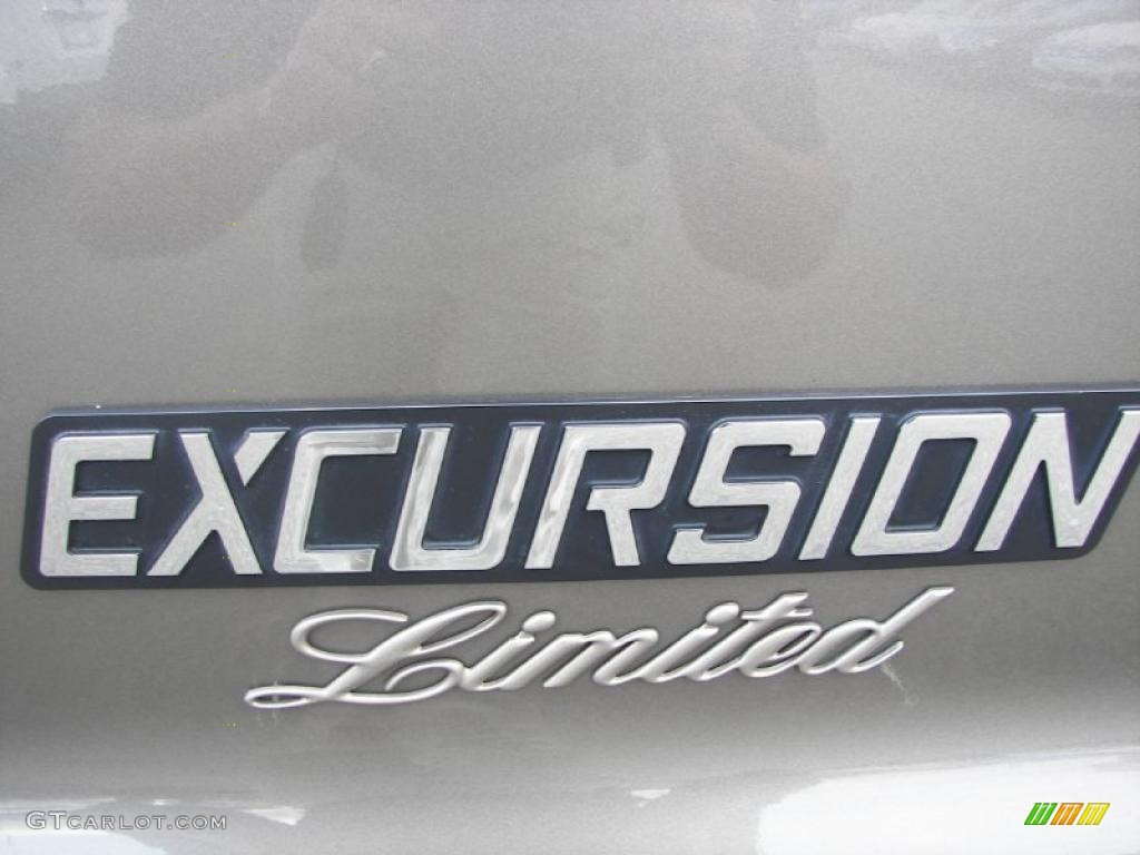 2003 Ford Excursion Limited 4x4 Marks And Logos Photo
