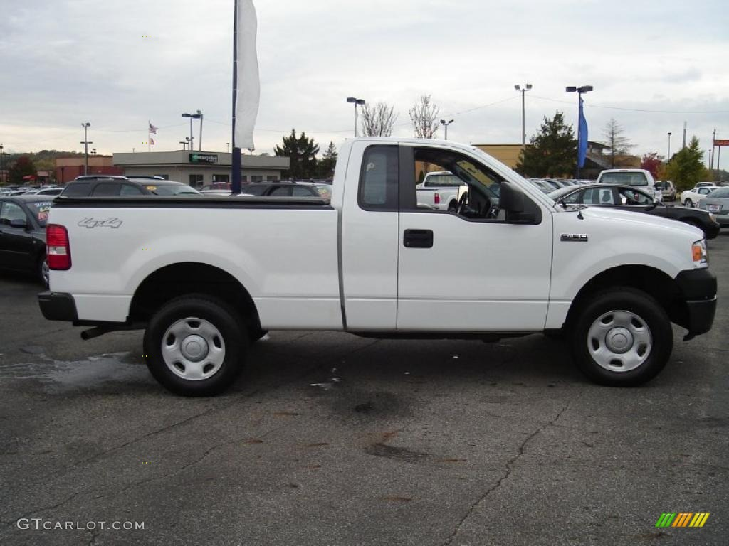 oxford white 2008 ford f150 xl regular cab 4x4 exterior photo 38735532. Black Bedroom Furniture Sets. Home Design Ideas