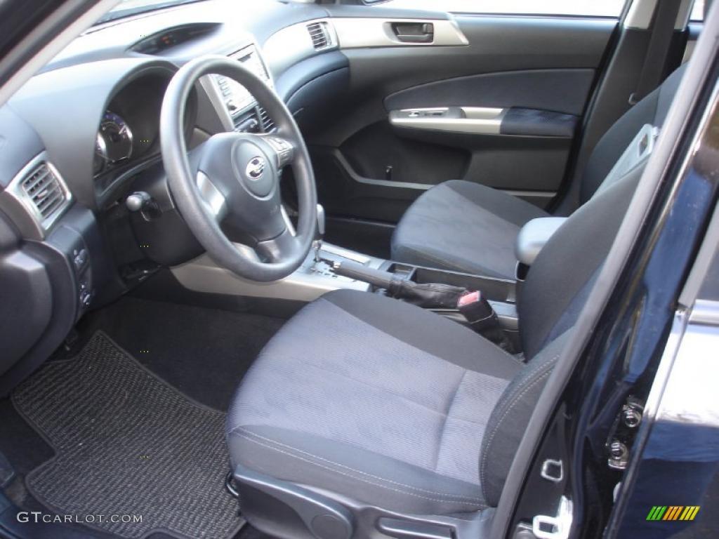 Black Interior 2010 Subaru Forester 2 5 X Premium Photo 38736889
