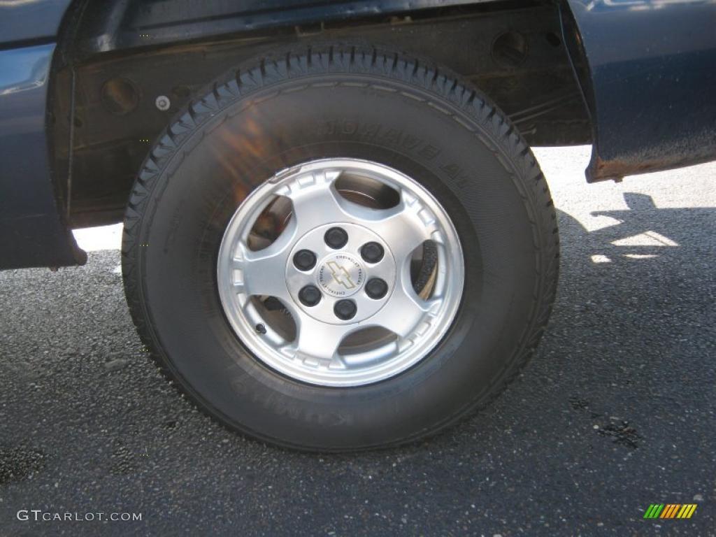 2002 Chevrolet Silverado 1500 LS Extended Cab 4x4 Wheel Photo #38736953