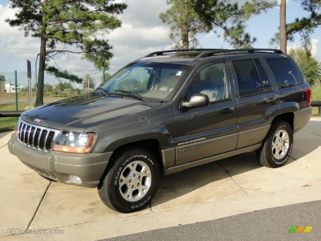 graphite metallic 2002 jeep grand cherokee laredo exterior photo. Cars Review. Best American Auto & Cars Review
