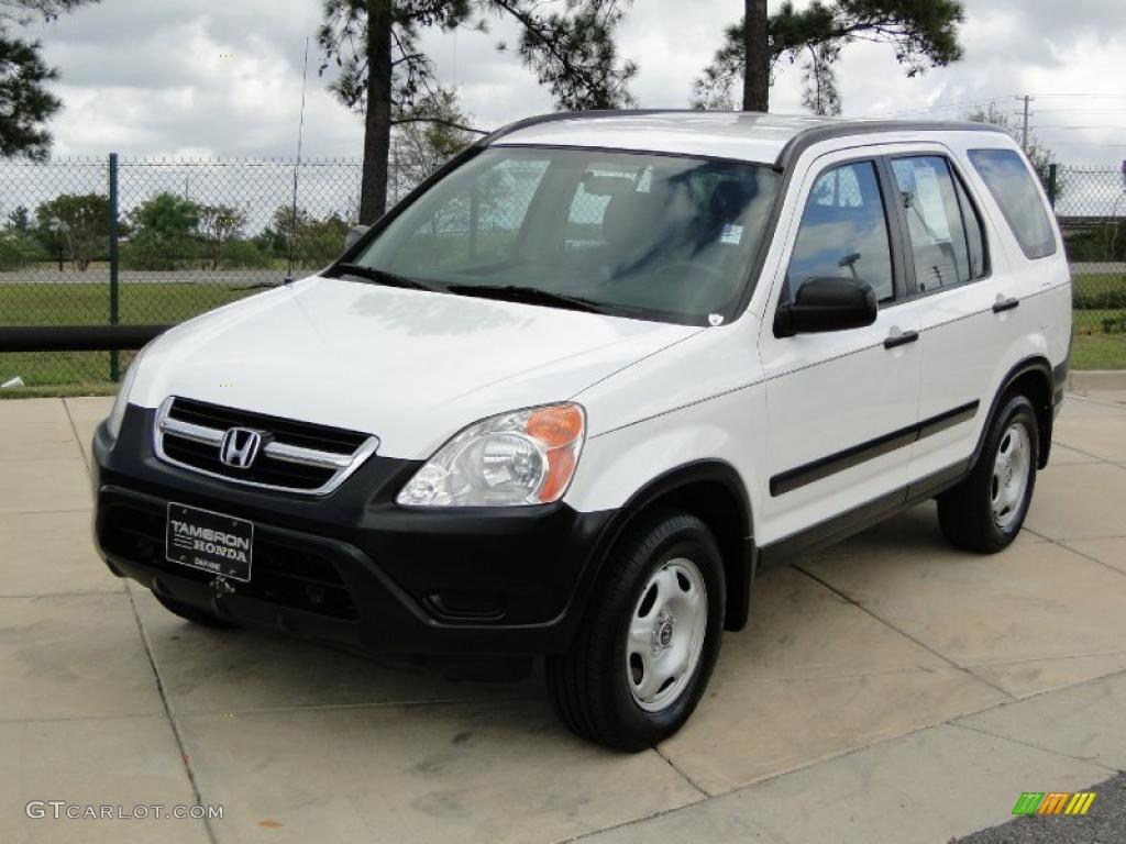 Taffeta White 2003 Honda CRV LX Exterior Photo 38741872