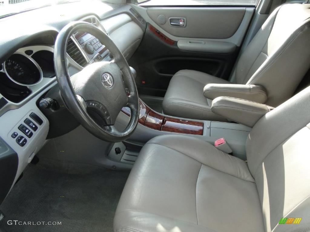 2004 toyota highlander limited v6 interior photo 38742572. Black Bedroom Furniture Sets. Home Design Ideas