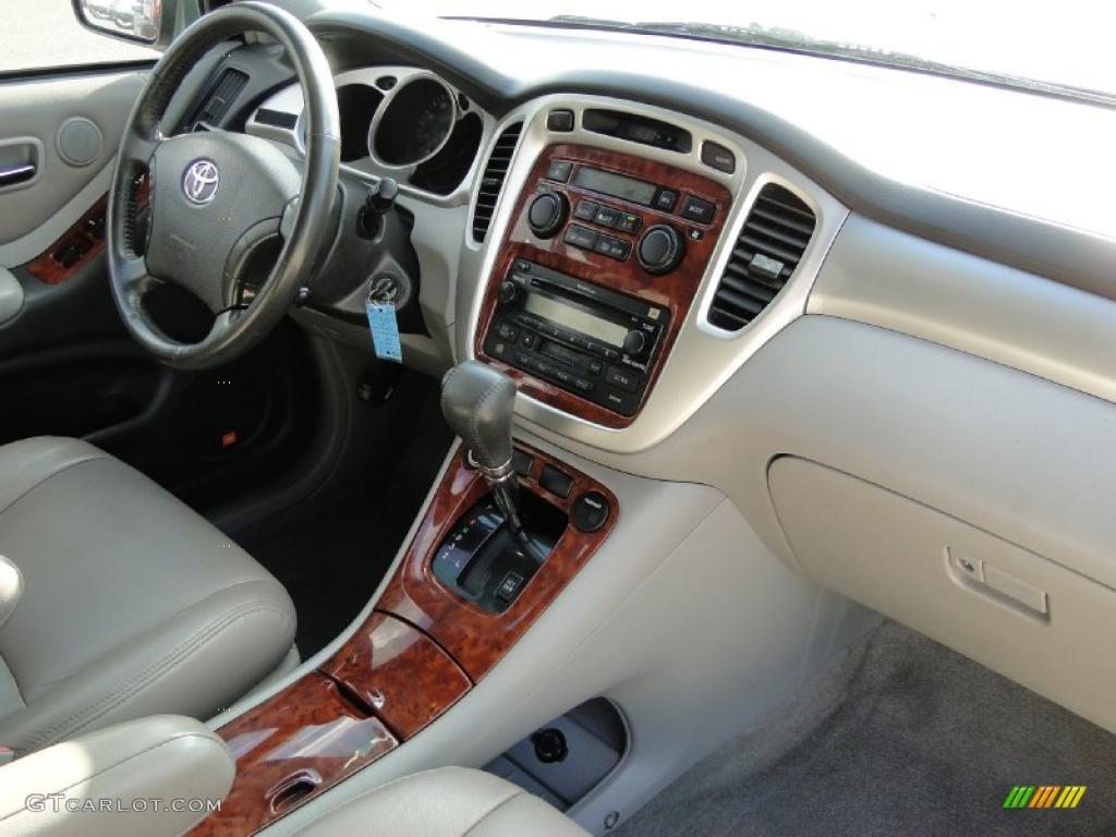 2004 toyota highlander limited v6 ivory dashboard photo 38742808 gtcarlot com