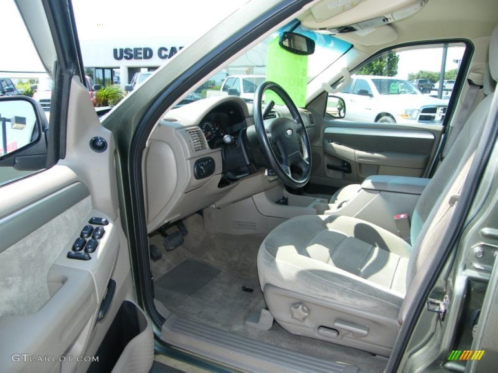 Medium Parchment Beige Interior 2003 Ford Explorer XLT Photo #38747896