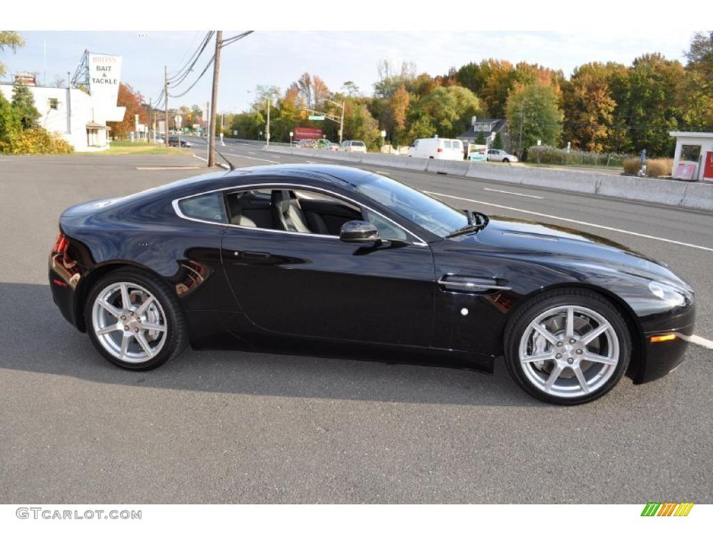 2007 aston martin v8 vantage. jet black 2007 aston martin v8 vantage coupe exterior photo #38751904