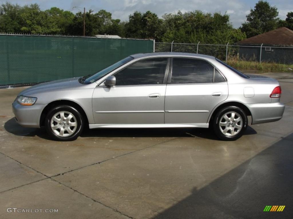 satin silver metallic 2001 honda accord ex sedan exterior photo 38756096. Black Bedroom Furniture Sets. Home Design Ideas